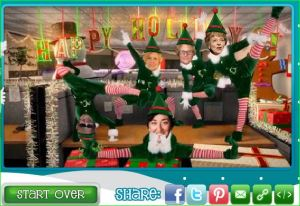Make your own at www.elfyourself.com