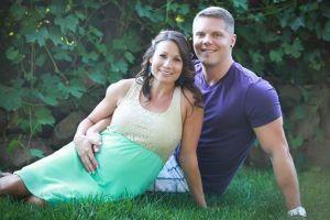 Kristin and Brian