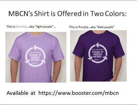 Shirts are $15 at https://www.booster.com/mbcn; allow extra time for processing and delivery